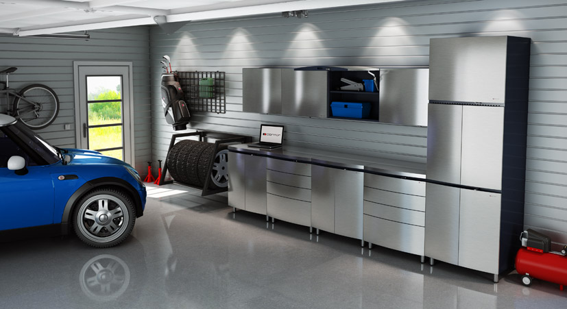 Stainless Interior & Exterior Cabinets