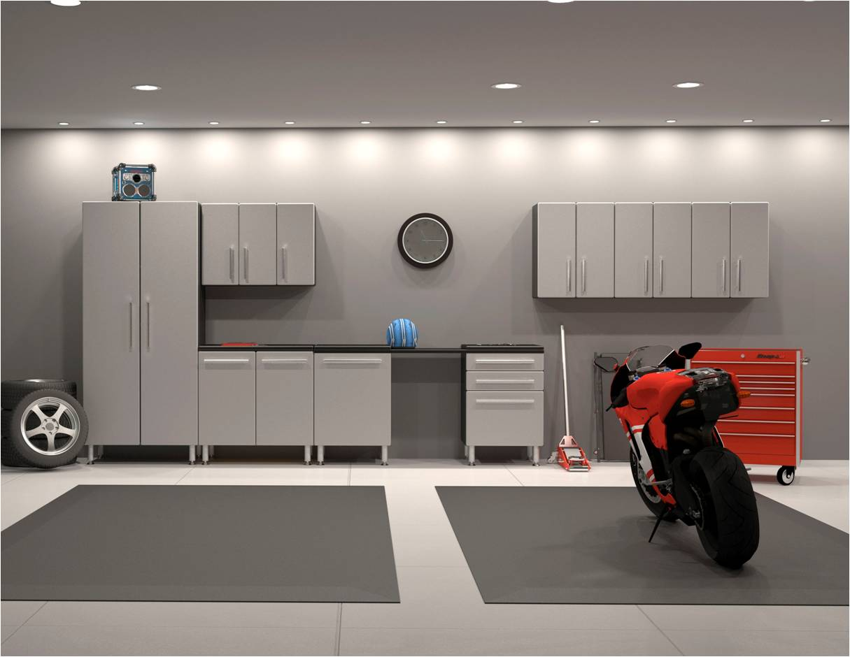 9 Piece Garage Cabinet Kit