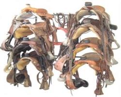 Garage Storage Saddle Rack