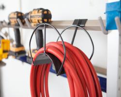 Garage Storage Hase & Cord Holder