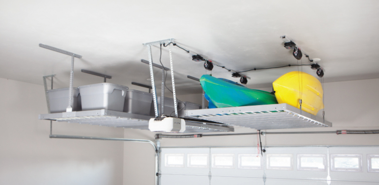 Motorized Overhead Storage